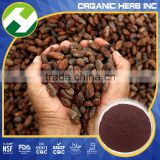 Cocoa bean shell powder extract cocoa color