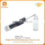 best sale black multi purpose 119*17mm injection lip gloss tube