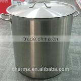 100L Capsule Bottom Stainless Steel Stew Pot / Stew Pan CS033 CE FDA SGS