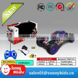 rc car with light music rc monster car toy with high quality