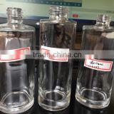 New arrival round empty glass bottles pump sprayer wholesale cosmetic bottle                                                                                                         Supplier's Choice