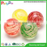 2015 innovative new products BSCI and Disney Social Audit Factory kid toys rubber bouncing ball with 3D figure inside