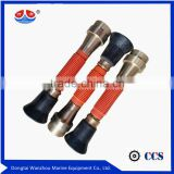 Brass material double nozzle spray gun,fire hose nozzle
