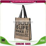 Bulk Buy From China Jute Shopping Bag Wholesale Cheap Items To Sell Jute Bag With Zipper Disposable Shopping Bag