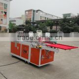 underwear pet packing boxes folding and gluing machine,PVC PET clear boxes gluing machine