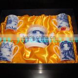 YF37004 ceramic tea cup set with gift box