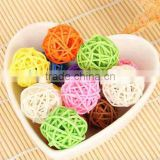 manufacture hot sale wicker decoration wicker ball,Christmas decoration,wedding decoration