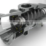 API & ISO Standard triangle rotor compressor for hot sale
