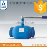 Handle soldering ptfe lined solenoid ball valve