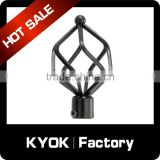 KYOK 12 years experience professional New style curtain eyelet tape,special shap finials