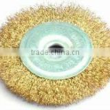 circular wheel steel wire brush with hole