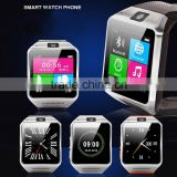 Built in 1.3MP camera GV08 smart watch for android system phones with sim card slot/TF card/3 kinds clock display/direct call