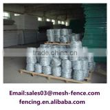 Barbed wire weight per meter for fence used barbed wire for sale