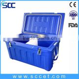 SCC brand PE Material and Insulated Type plastic ice cooler box,picnic cooler box