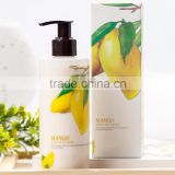 Mendior Mango Whitening body lotion Skin Smoother Remove Gallinaceous skin Body Lotion OEM custom brand