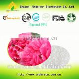 Factory hot selling Peony root extract powder 99% paeonol white crystal powder