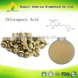 100% Pure Green Coffee Bean Extract,Free Sample Green Coffee Bean Extract Powder,Pure Chlorogenic Acid