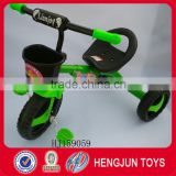 tricycle toys for baby's gift eco-friendly tricycle with three wheel