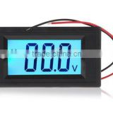 YB5135D three phase digital LCD volt meter DC/AC 2V 30V 200V 500V voltmeter with blue screen
