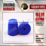 blue 24~28mm diameter silicone rubber round stopper / hole plugs/Natural silicone synthetic rubber products manufacturer