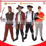 fancy men sexy cosplay costume jack sparrow costume adult pirate costume