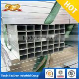 chimney pipes 15x15 20x20 pre galvanized square rectangle steel pipe tube hollow section