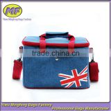 Fashion England Style Oxford High Quality Insulated Large Capacity Cooler Lunch Bag Hot Sale