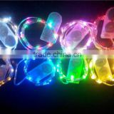 led star shape string light for decoration of Christmas wedding