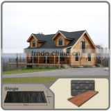 popular design charcoal black color stone coated metal roof shingle / roofing tile panel / high quality stone coated roof tile