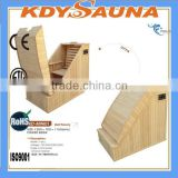 Canada Red Cedar Half Body Sauna with Computer Control Panel(CE/RoSH/ISO)