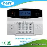 GSM Buglar Alarm Security System with 8 wired zones 99 wireless zone two-way communication