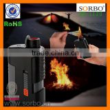 Powerful multifunctional kitchen lighter Outdoor barbecue fire starter with flashlight torch, power bank