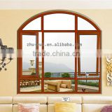 aluminum arch casement window