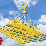 Arnest houshold tools washing items laundry products plastic clothes hangers racks 10 set conected Japanese hanger 75116