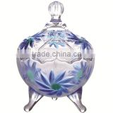 high quality glass sugar candy bowl with stand                                                                         Quality Choice