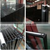 Tempered glass, 12mm thick toughened glass for building
