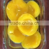 SWEET CANNED YELLOW PEACH IN HALVES