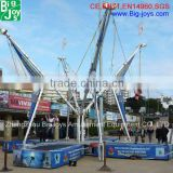 rectangle bungee trampoline for sale, hot commercial bungee trampoline design