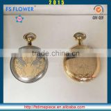 FS FLOWER - Exclusive Nobility Good Quality Custom Brass Pocket Watch Gifts For Muslim Men Wedding