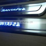 aluminum door sill for santafe IX45 withLED light
