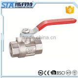 "ART.1001 Manufacturer wholesale 1/2"" 3/4"" 1"" manual operated forged brass ball valve for water oil gas air price made in china"