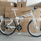 hot sale MTB 26inch natural rubber air tire alloy frame mountain bike good quality bicycle