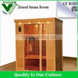 personal corner far infrared sauna room luxury health sauna steam room