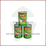 canned jack mackerel tin fish in tomato sauce