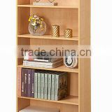 China particle board design wooden book rack/used library bookcases/library book shelf for sale