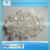 0.25carat best price uncut HPHT CVD white rough diamonds