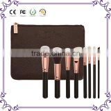 8pcs Sofeel rose golden luxury set vegan prime set professional makeup brushes complete set