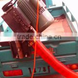 The on-board portable /MOBILE grain suction machine with soft tubes