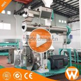 Hot sale China Strongwin feed pelletizer equipment animal feed mill machine manufacturer