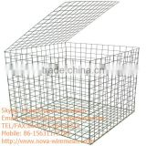 For sale factory price hot dip galvanized iron wire welded gabion basket